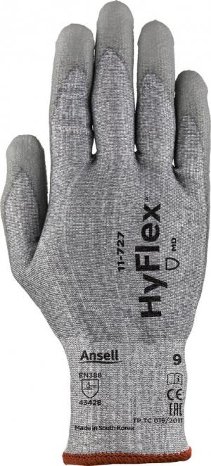 Ochrona rąk Rękawice HyFlex 11-727, rozmiar 8 11-727,