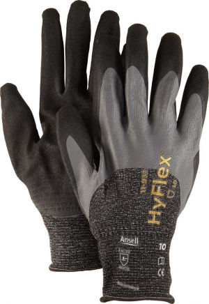 Ochrona rąk Rękawice Hyflex 11-937, rozmiar 7 11-937