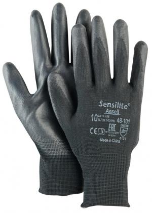 Ochrona rąk Rękawice HyFlex 48-101, czarne, rozmiar 9 48-101,