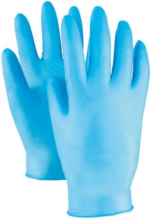 Ochrona rąk Rękawice jednorazowe Kowloon, Nitrylowe, niep., roz. 8(opak. 100 szt.) 8(opak.