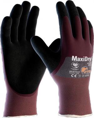 Ochrona rąk Rękawice MaxiDry 3/4 z powłoką roz.8 ATG maxidry