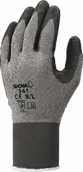 Ochrona rąk Rękawice montażowe szare 341-8/L 341-8/l