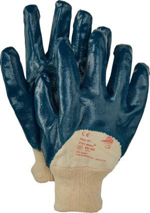 Ochrona rąk Rękawice Nitex 318, 250mm, rozmiar 9, niebieskie