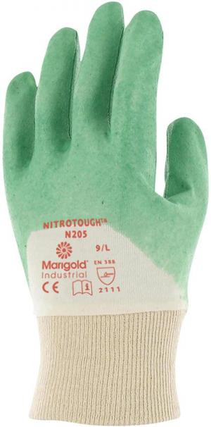 Ochrona rąk Rękawice Nitrotough N205, roz. 9 n205,