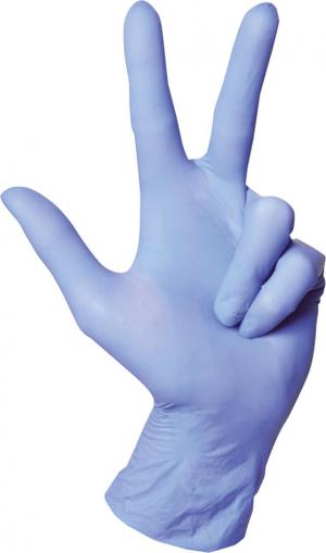 Ochrona rąk Rękawice nitrylowe 0446, roz. M (opakowanie 200 szt.) (opakowanie