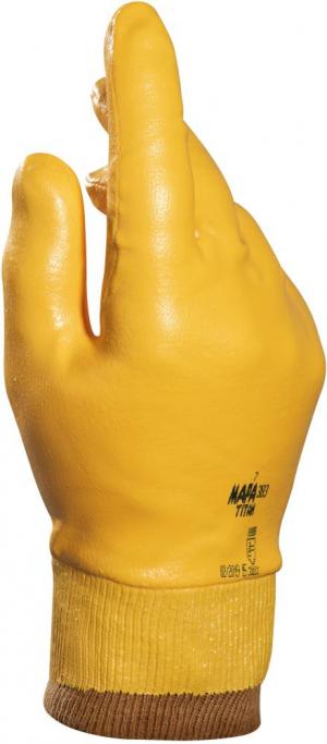 Ochrona rąk Rękawice nitrylowe Titan 383 rozmiar 9 MAPA