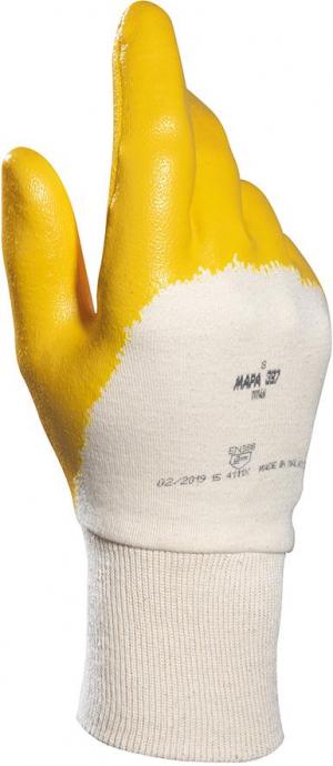 Ochrona rąk Rękawice nitrylowe Titan 397 roz.7 MAPA