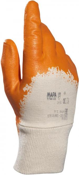 Ochrona rąk Rękawice nitrylowe Titan 833, roz.10