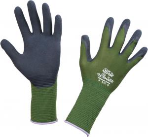 Ochrona rąk Rękawice ogrodnicze Premium Foresta zielone, rozmiar 8 foresta