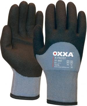 Ochrona rąk Rękawice Oxxa X-Frost, rozmiar 10, szary/czarny ochrona