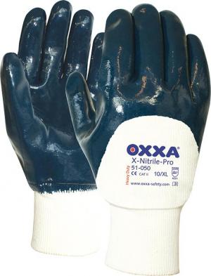 Ochrona rąk Rękawice Oxxa X-Nitrile- Pro, mankiety otwarte, rozmiar 10 mankiety
