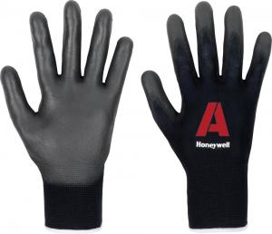 Ochrona rąk Rękawice Perfect Fit, PU, czarne, rozmiar 11 czarne