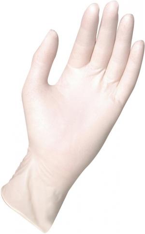 Ochrona rąk Rękawice Semp.Guard 0443, Lateksowe, roz.L (opak. 100 szt.)