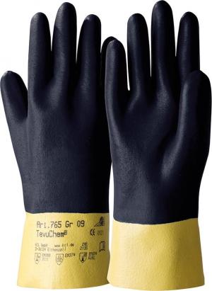 Ochrona rąk Rękawice TevuChem 765, rozmiar 9
