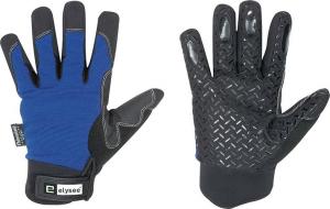 Ochrona rąk Rękawice zimowe Freezer, rozmiar 10, czarne/niebieskie czarne/niebieskie