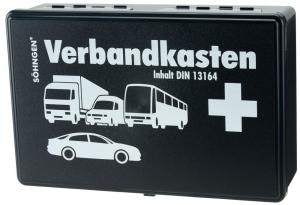 Bez kategorii Samochodowa apteczka pierwszej pomocy, z wypełnieniem, DIN 13164 13164