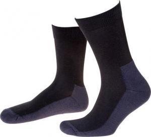 Ochrona stóp Skarpety funkcyjne Dunova, rozmiar 45-47, czarne/niebieskie, FORTIS 45-47