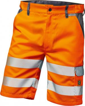 Odzież ochronna Spodenki o wysokiej widoczności Lyon roz. 60, pomarańczowe lyon