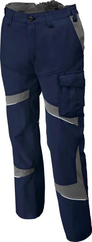 Odzież robocza Spodnie ACTIVIQ low, rozmiar 60, granatowy/antracyt activiq