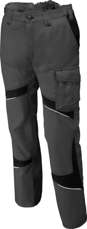 Odzież robocza Spodnie ACTIVIQ niskie, rozmiar 56, czarne activiq