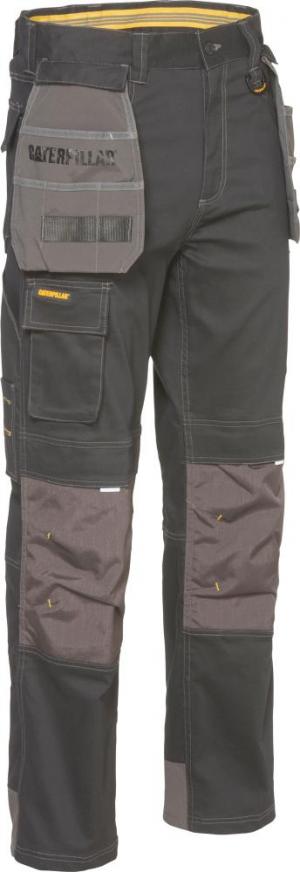 Odzież robocza Spodnie CAT H20 Defender, roz. 34×32, czarne 34×32,