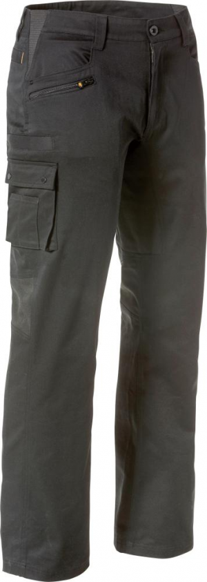 Odzież robocza Spodnie CAT Operator Flex, roz. 38×30, czarne 38×30,