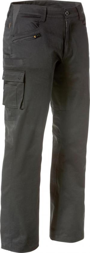 Odzież robocza Spodnie CAT Operator Flex, roz. 38×34, czarne 38×34,