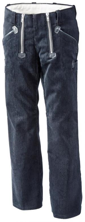 Odzież robocza Spodnie cechowe PAUL, Trenkercord, czarne, rozmiar 56 cechowe