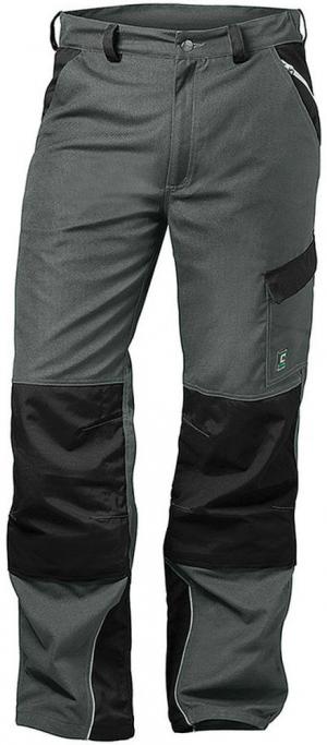 Odzież robocza Spodnie Charlton, rozmiar 52, szary/czarny charlton,