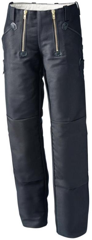Odzież robocza Spodnie gildiowe KLAUS, skręcane, czarne, rozmiar 56 czarne