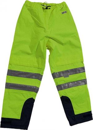 Odzież ochronna Spodnie Multinormbund rozmiar 2XL, żółte/niebieskie 2xl,