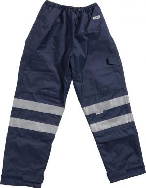 Odzież ochronna Spodnie multinormbund rozmiar L, granatowe granatowe