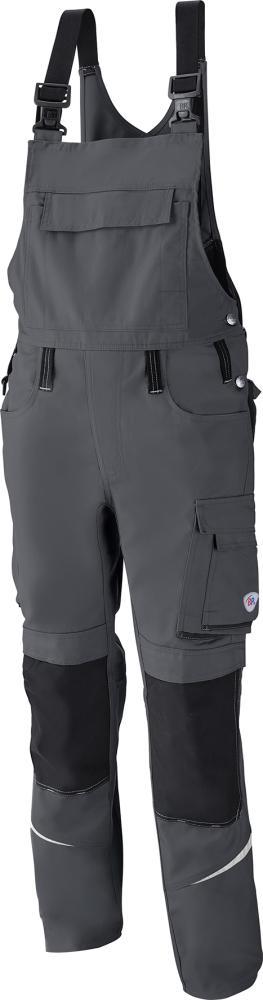 Odzież robocza Spodnie ogrodniczki 1804 720, rozmiar 54, ciemnoszary/czarny
