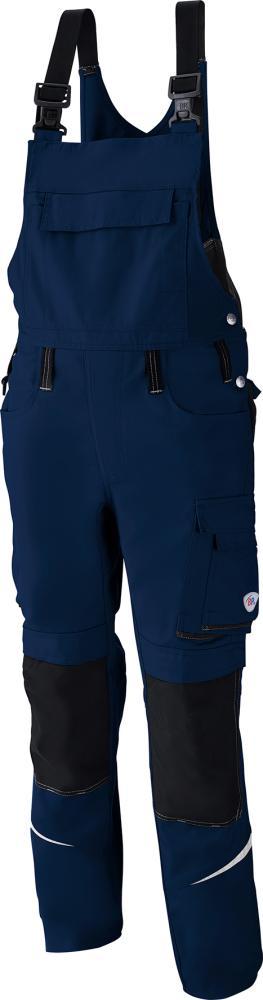 Odzież robocza Spodnie ogrodniczki 1804 720, rozmiar 60, niebieskie