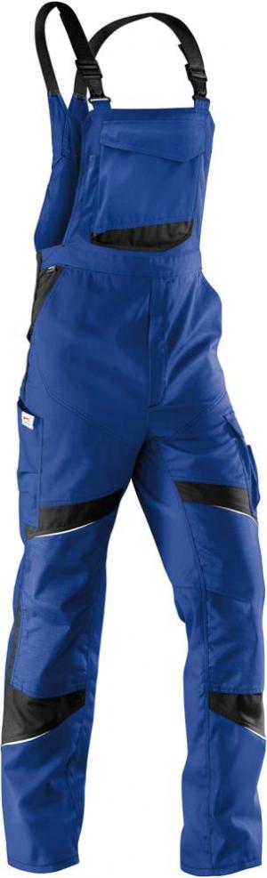 Odzież robocza Spodnie ogrodniczki ACTIVIQ high, rozmiar 60, niebieski/niebieski/brązowy activiq