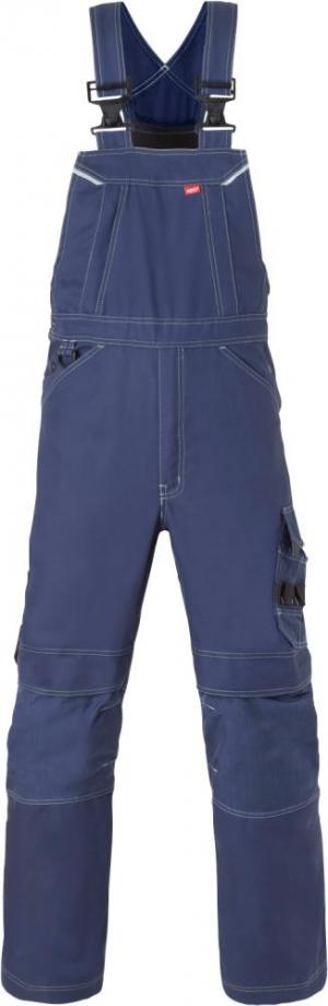 Odzież robocza Spodnie ogrodniczki Attitude, rozmiar 58, granatowy attitude,