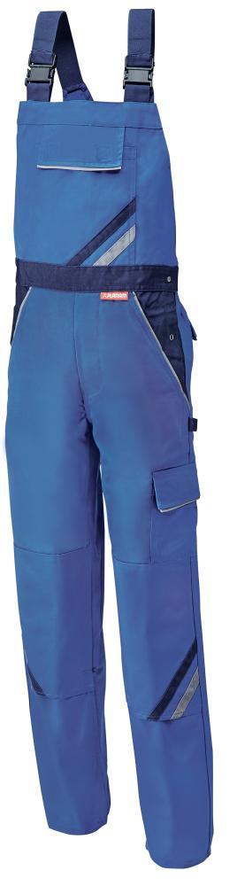 Odzież robocza Spodnie ogrodniczki Highline, rozmiar 56, królewski błękit/navy błękit/navy