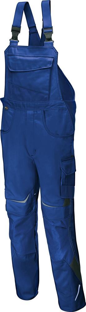 Odzież robocza Spodnie ogrodniczki PULSSCHLAG roz. 52, niebieski/brązowy niebieski/brązowy