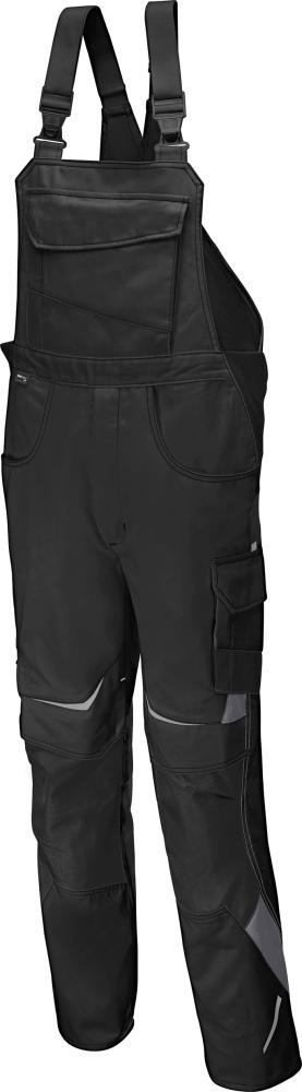 Odzież robocza Spodnie ogrodniczki PULSSCHLAG roz. 58, czarne czarne