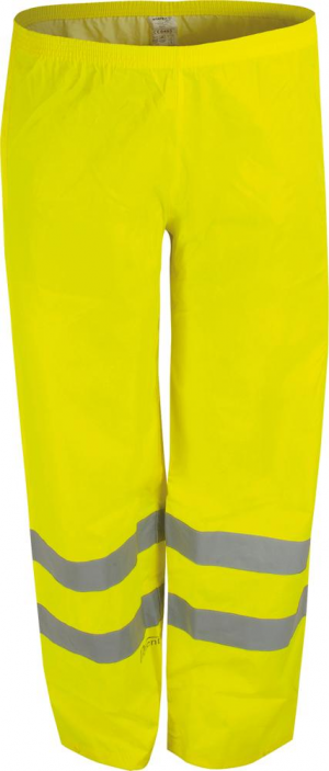 Odzież ochronna Spodnie przeciwdeszczowe RHG, rozmiar 3XL, żółte 3xl,