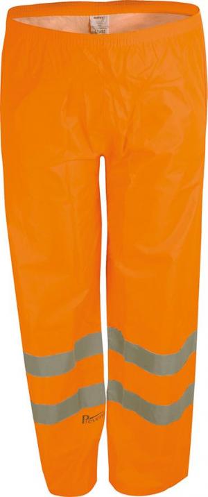 Odzież ochronna Spodnie przeciwdeszczowe RHO, rozmiar L, pomarańczowe ochronna