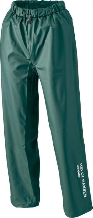 Odzież robocza Spodnie przeciwdeszczoweVoss, PU stretch rozmiar M, zielone odzież,