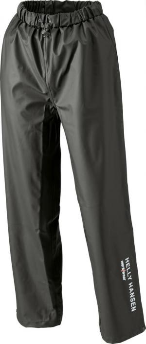 Odzież robocza Spodnie przeciwdeszczoweVoss, PU-Stretch rozmiar XL, czarne czarne