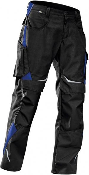 Odzież robocza Spodnie PULSSCHLAG wysokie roz. 58, czarny/niebieski czarny/niebieski,