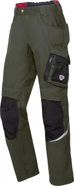 Odzież robocza Spodnie robocze 1998 570 roz. 52, oliwkowe/czarne 1998