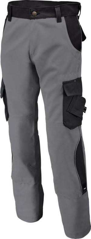Odzież robocza Spodnie robocze Bruno, 300 g/m², rozmiar 58, szare/czarne bruno,