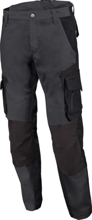 Odzież robocza Spodnie robocze FLORIAN, antracytowo-czarne, rozmiar 58 antracytowo-czarne,