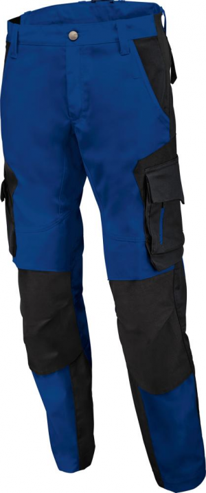 Odzież robocza Spodnie robocze FLORIAN, niebiesko-czarne, rozmiar 56 florian,