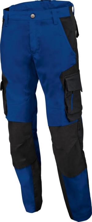 Odzież robocza Spodnie robocze FLORIAN, niebiesko-czarne, rozmiar 58 florian,
