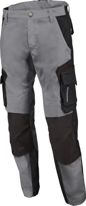 Odzież robocza Spodnie robocze FLORIAN, szaro-czarne, rozmiar 56 florian,